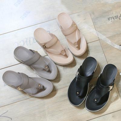 Slippers Flat Platform Shoes Ladies Beach Summer Women Shoes Women Wedge Slippers