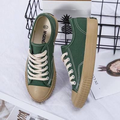 2020 New Canvas Shoes Female Spring Shoes Flat Casual Shoes Flats