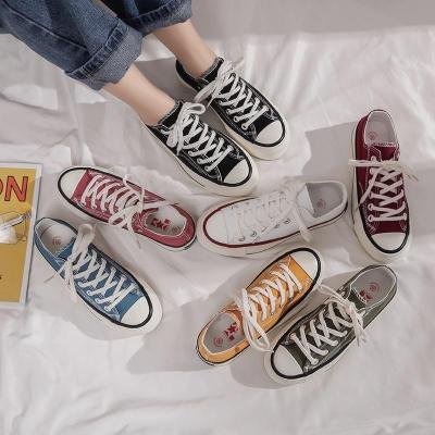 2020 New Canvas Shoes Girls Shoe for Women Flats