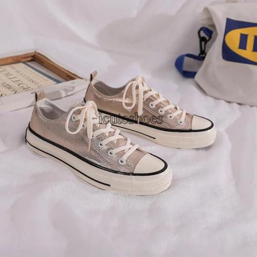 2020 Canvas Shoes Female Versatile Style for Women Flats