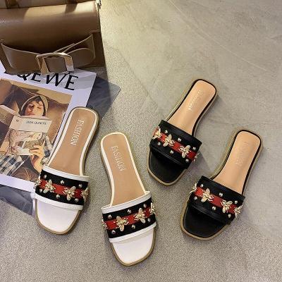 Women Sandals Open Toe Low Wedges Bohemian Summer Shoes Women