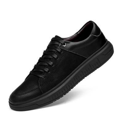 Man Leather Shoes Casual Footwear Fashion Male Sneakers Clax Men's Walking Shoe Design