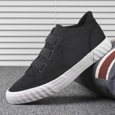 New Style Trendy Vulcanize Shoes England Cloth Breathable Shoes Spring/Autumn Casual Sneakers Men's Loafer Shoes