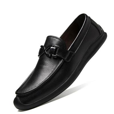 Man Shoes Genuine Leather Summer Men's Boat Shoe holes Breathable White Loafers Male Moccasins Flats