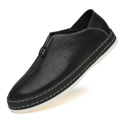 Man Shoes Fashion Loafers Summer Autumn Men's Leather Shoe Slip on Genuine Leather Casual Footwear Breathable
