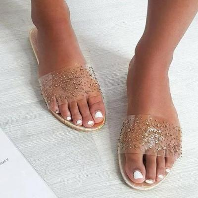 Casual Flat Heel Beach Slippers