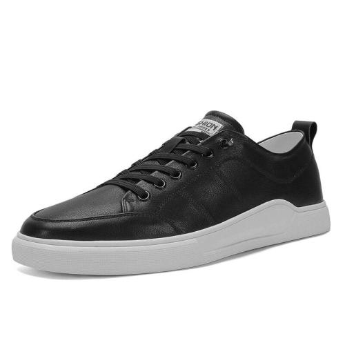Man Shoe Fashion New Male Casual Shoe White Footwear Men's Leather Sneakers Walking Shoe