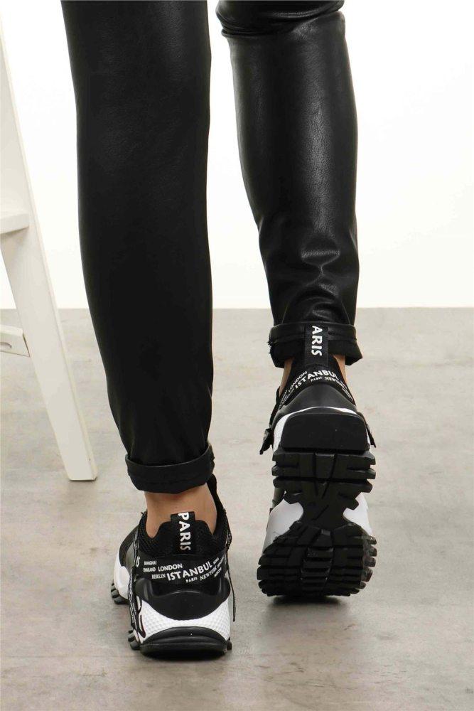 Black Sneakers Women Fashion Styles