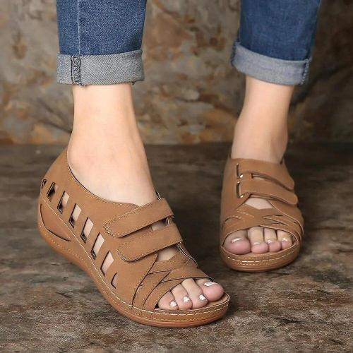 Summer Women Sandals Wedges Casual Shoes Comfort Roman Sandals Women Sandalia