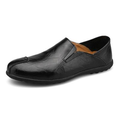 Trend Genuine Leather Men Shoes Luxury Casual Slip-on Formal Loafers Men Italian Male Driving Shoes Size