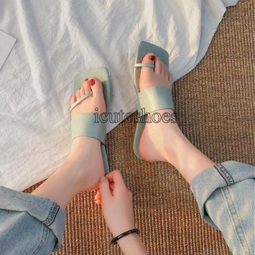 Slip On Flat Slides Summer Sandals Beach Slipper Shoes Women