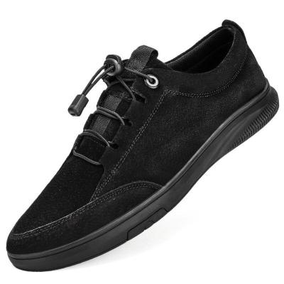 Man Leather Sneakers Fashion Men's Shoes Suede leather Casual Shoe Male Walking Footwear Leisure