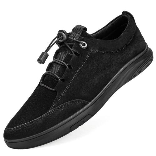 Man Leather Sneakers Fashion Men's Shoes Suede leather Casual Shoe Male Walking Footwear Leisure