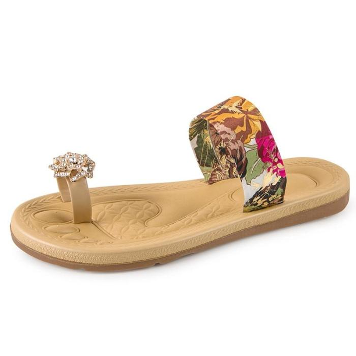 Women Slippers Flat Beach Outdoor Slides Sandals Casual Shoes