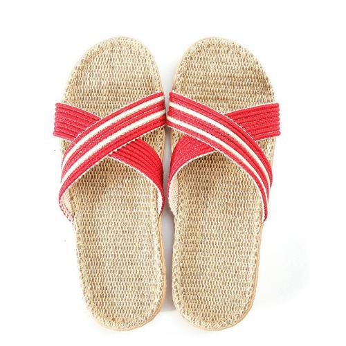 Home Slippers Linen Slippers Non-Slip Light Super Light Slippers