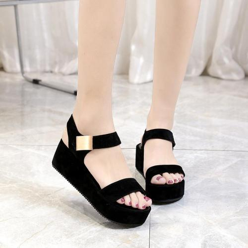 High Heel Wedge Sandals Women Summer Fashion Roman Women's Shoes