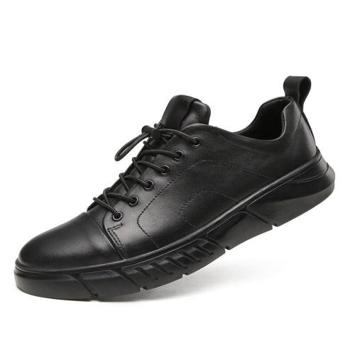 Man Leather Shoes Casual Footwear Spring Autumn Male Sneakers Genuine Leather Mens Walking Shoe Design Fashion