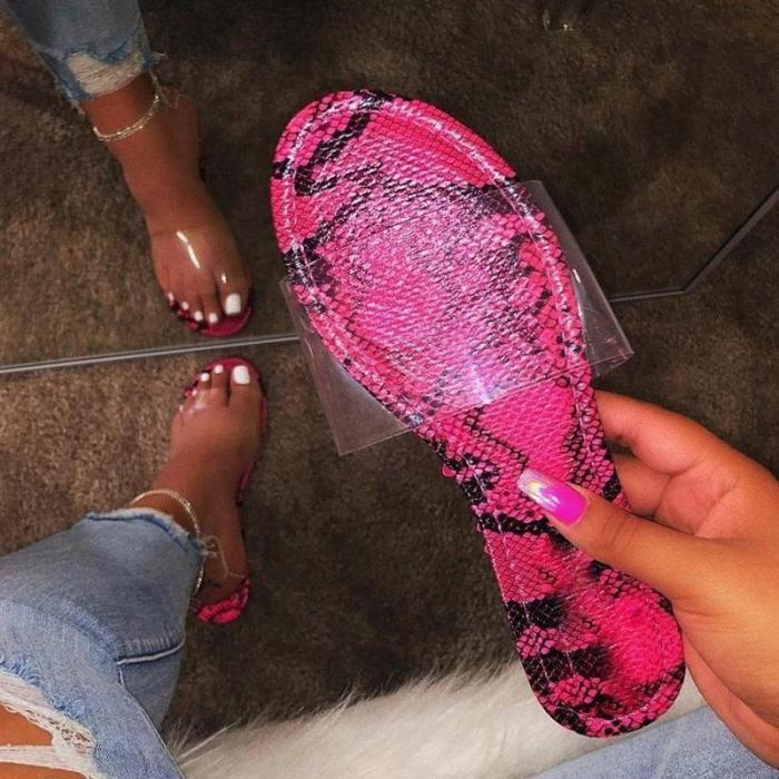 Slip-On Flip Flop Flat With PVC Slippers