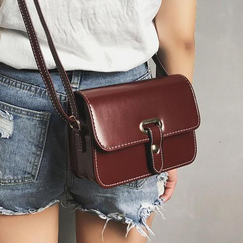 Girls Women Shoulder Bag Retro Female Simple Bag Crossbody Shoulder Bag Handbag Bag
