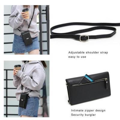 Leather Phone Purse Mini Shoulder Handbag Leisure Sling Bag Small Pocket