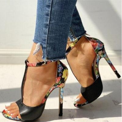 Women High Heels Sandals Femme Sexy Stripper Shoes Women Heels