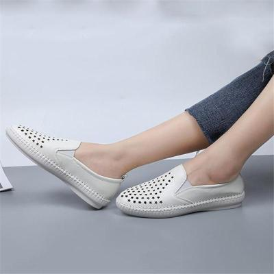 Women's Comfy Slip-on Loafers Flat Heel Shoes