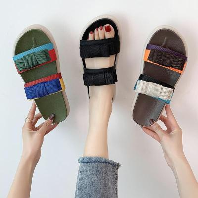 Slippers Women Wear New Summer Ins Large Size Sandals Casual Beach Sports Slippers
