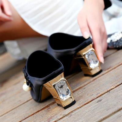 2020 New High-heeled Sandals Women's Summer Slippers Chunky Heel Sexy Fashion Women's Shoes