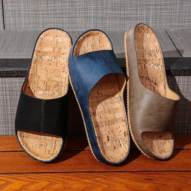 Slippers For Women Solid Color Flip Flops Shoes Non-slip Breathable Summer Footwear Beach Flip Flops