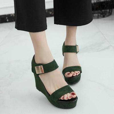 Summer New Sandals Women Wedge Heel Women's Sandals Open Toe Women's Shoes