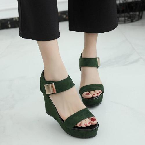 Summer New Sandals Women Wedge Heel Women's Sandals Open Toe Women's Shoes