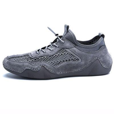 Shoes Breathable Flats Casual Shoe 2020 Summer Man Sneakers Fashion Walking Footwear Soft Khaki