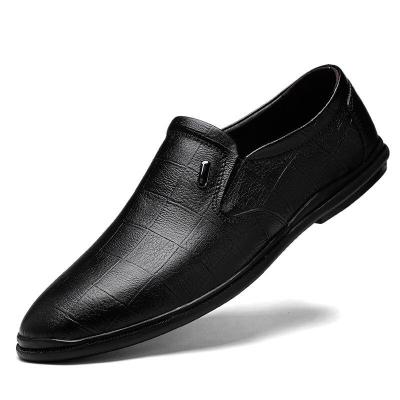 Man Leather Shoes Male Dress Shoe Genuine Leather Loafers Men's Casual Footwear Brand
