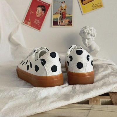Flat Shoes Women Leisure Retro Trend Simple Fashion Wear-resistant Canvas Shoes