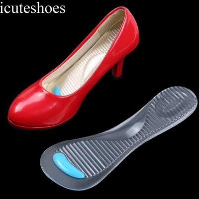 Non-Slip Women Gel Arch Support Anti-slip Massaging Insoles Pads Cushion Orthopedic Insoles for High Heels Shoes