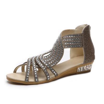 Women Sandals Women's Flats Open Toe Casual Shoes Rome Plus Size Sandals Ladies