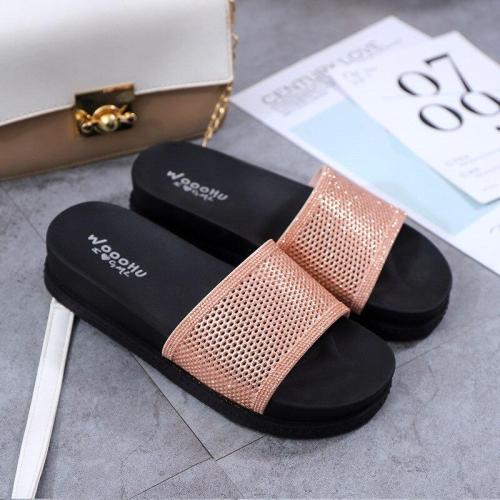 Fashion Outdoor Women's Slippers Summer Thick Bottom Soft Non-slip Fashion Leisure Slipper