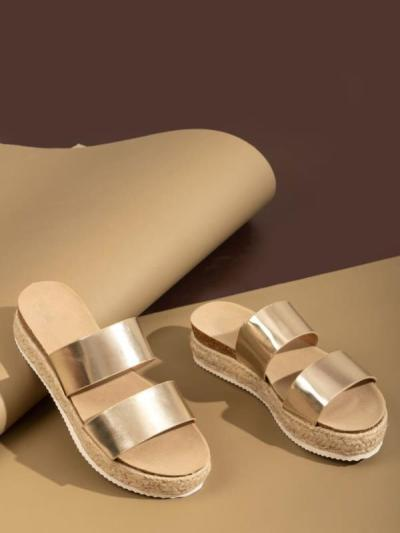 Fashion Shoes Women Mules Shoes Flat Heel Slides Summer Ladies Slippers