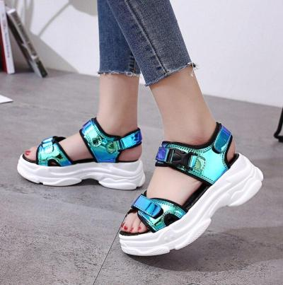 Open-toed Women Sandals Wedge Hollow Out Women Sandals Platform Shoes Women