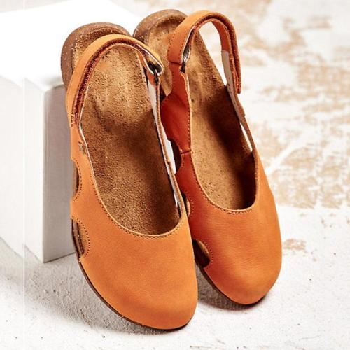 Women's Hollow Out Flat Cozy Sandals