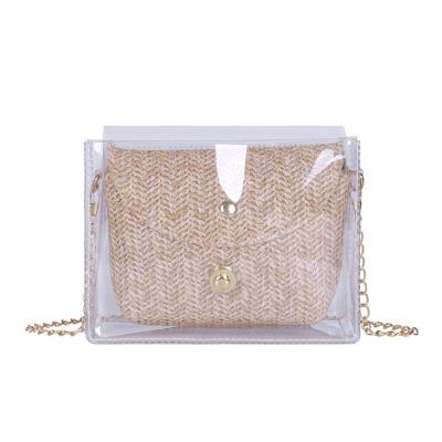 Transparent Women Bags Fashion Ladies Chain Shoulder Crossbody Bags