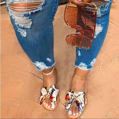 Sexy Sandals Handmade Roman Style Women's Sandals Fashion Sandals Beach Shoes Beautiful Colors Bow Comfortable