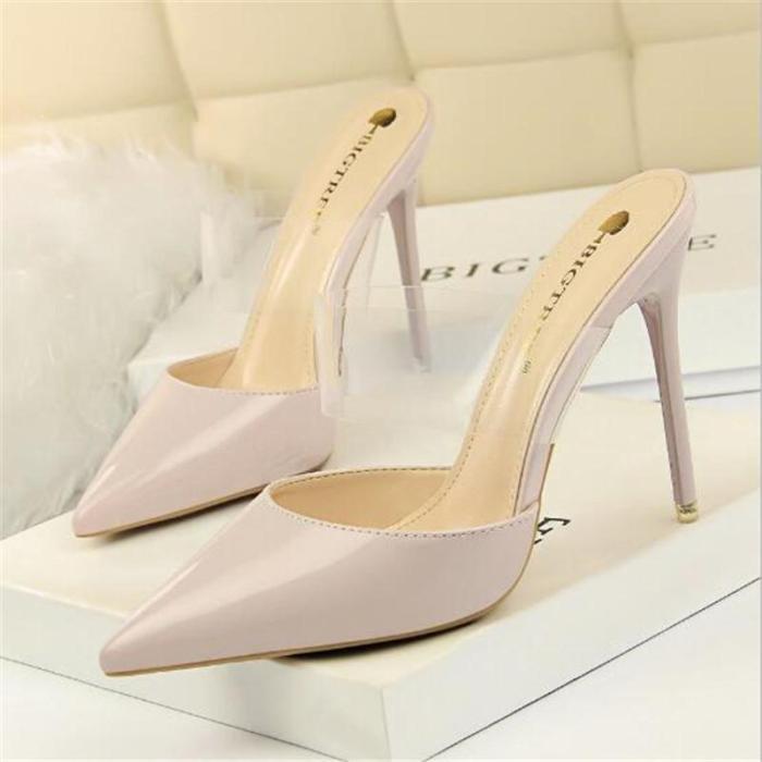 Fashion High Heels Women Shoes Transparent Women Sandals Sexy Party Shoes Heels Stiletto