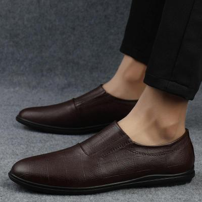 Man Leather Shoes Genuine Leather New Male Moccasins Design Casual Shoe Clax Men's Loafers Flats