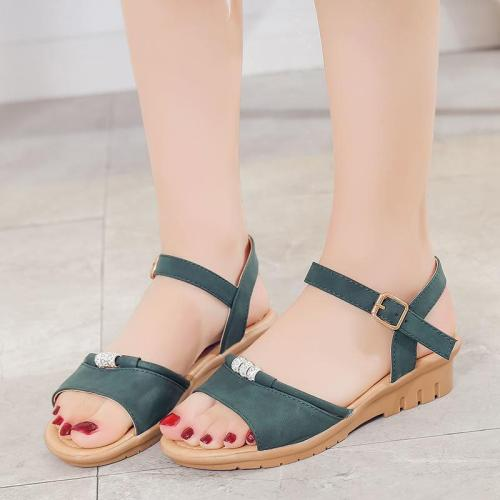 Slope Heel Women's Shoes In Summer New Sandals Women Fashion Sandals