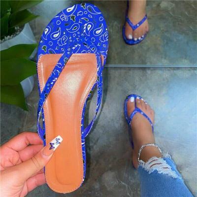 Summer New Flip Flops Fashion Soft Bottom Sand Beach Women Candy Color Flat Outdoor Slippers Home Slides