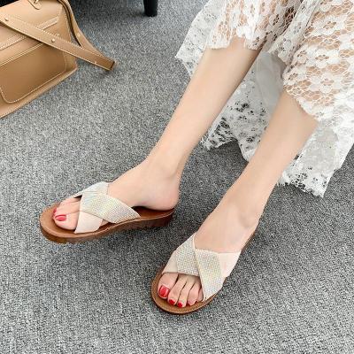 Slippers Female Summer Wear 2020 Fashion Flat Beach Female Sandals