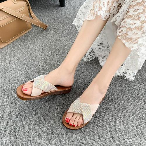Slippers Female Summer Wear 2020 Fashion Flat Beach Female Sandals