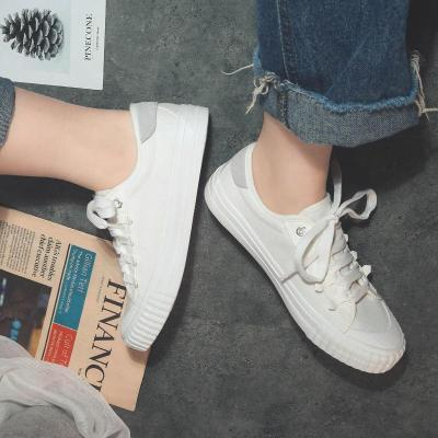 Shoes Spring New 2020 Flat Canvas Shoes Retro White Shoes Women