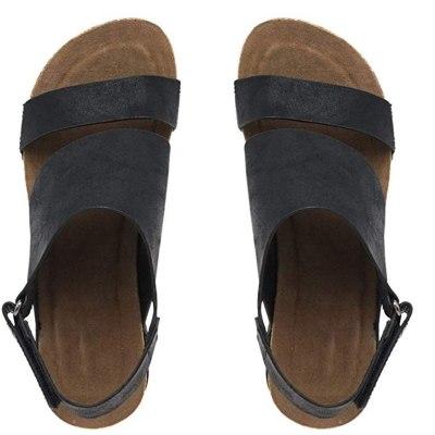 Women Sandles Stylish Comfortable Wedges Open Toe Adjustable Ankle Roman Sexy Female